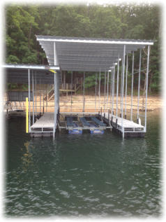 New Boat Dock Add-On With Boat Lift